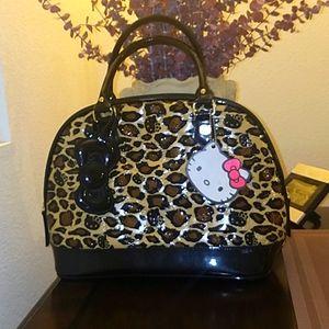 Hello Kitty (cheetah)Satchel bag